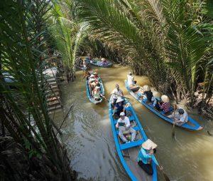 Mênh mông sông nước Tiền Giang