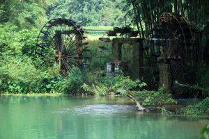 Một cạn nước đặc trưng ở vùng núi Trùng Khánh