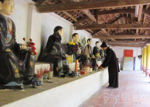 Nhiều ngôi tượng Phật đặc sắc, có giá trị cao được các nghệ nhân tạc lưu truyền cách đây hàng trăm năm