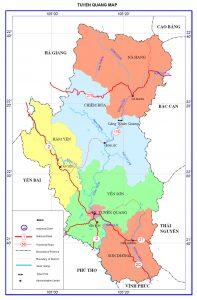 Bản đồ tỉnh Tuyên Quang