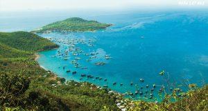 Vịnh Cam Ranh đẹp trong xanh