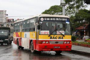 Xe buýt ở Bắc Giang