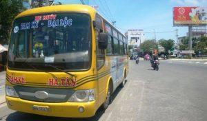 Xe buýt chạy trong nội tỉnh Quảng Nam