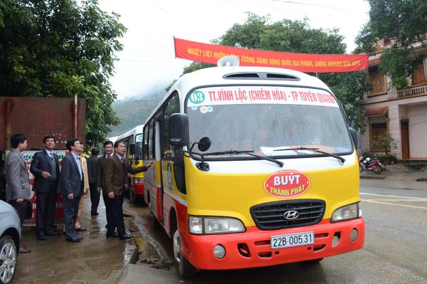 Xe buýt tỉnh Tuyên Quang
