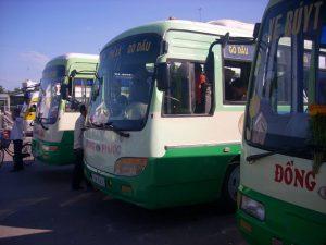 Xe bus đi du lịch Tây Ninh