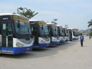 Xe buýt tại Thái Bình