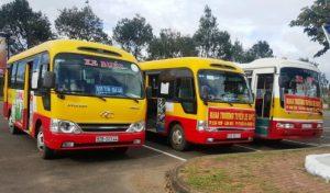 Xe buýt tỉnh Kon Tum với chuyến Kon Tum- Gái Lại