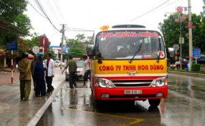 Xe buýt trong tỉnh Ninh Bình