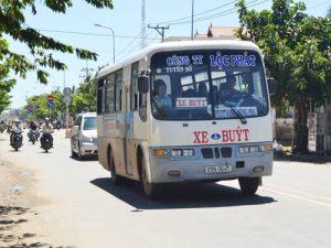 Ninh Thuận có 3 tuyến xe buýt chạy trên địa bàn tỉnh phục vụ người dân và du khách