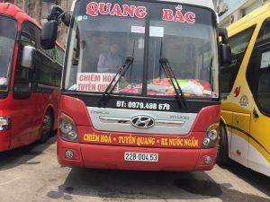 Xe khách Tuyên Quang