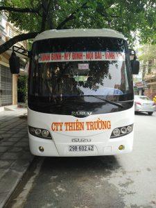 xe khách Hà Nội- Ninh Bình