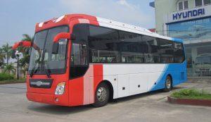 Xe khách tại bến xe Bình Định đi các tỉnh trong cả nước