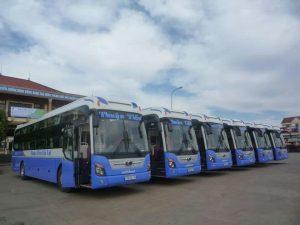 Xe khách đi du lịch Tiền Giang