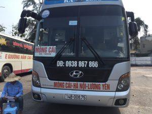 Xe khách đi Quảng Ninh