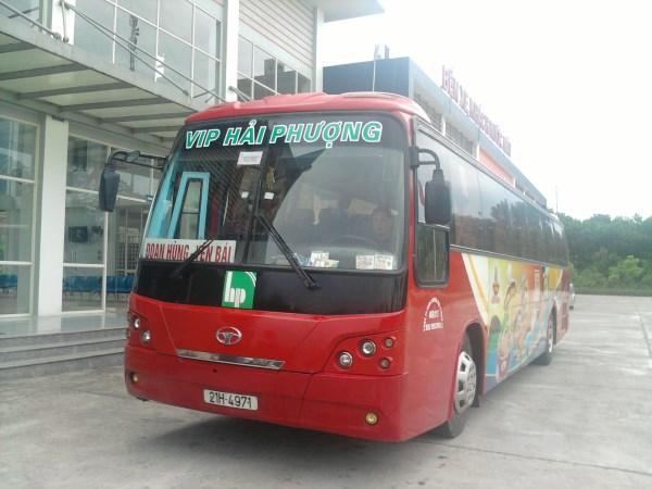 Xe khách Hà Nội đi Yên Bái