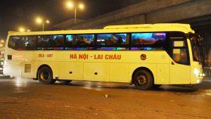 Hà Nội -Lai Châu có nhiều chuyến xe chạy mỗi ngày