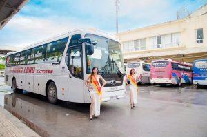 Nhiều xe khách ở Bắc- nam chạy tuyến Gia Lai nên thuận tiện cho du khách