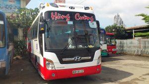 Xe khách du Sài Gòn đi An Giang