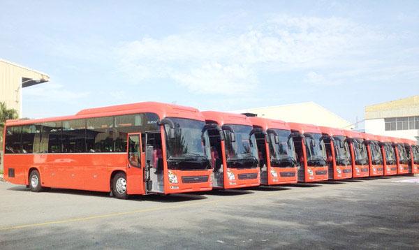 Xe khách tuyến Sài Gòn Nha Trang- phương tiện giao thông đi Nha Trang